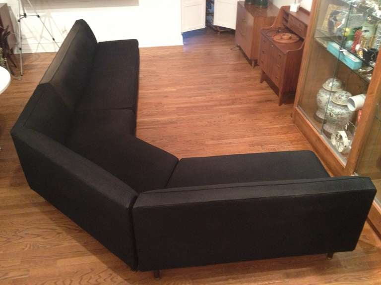 Harvey Probber Angled Sectional Sofa At 1stdibs
