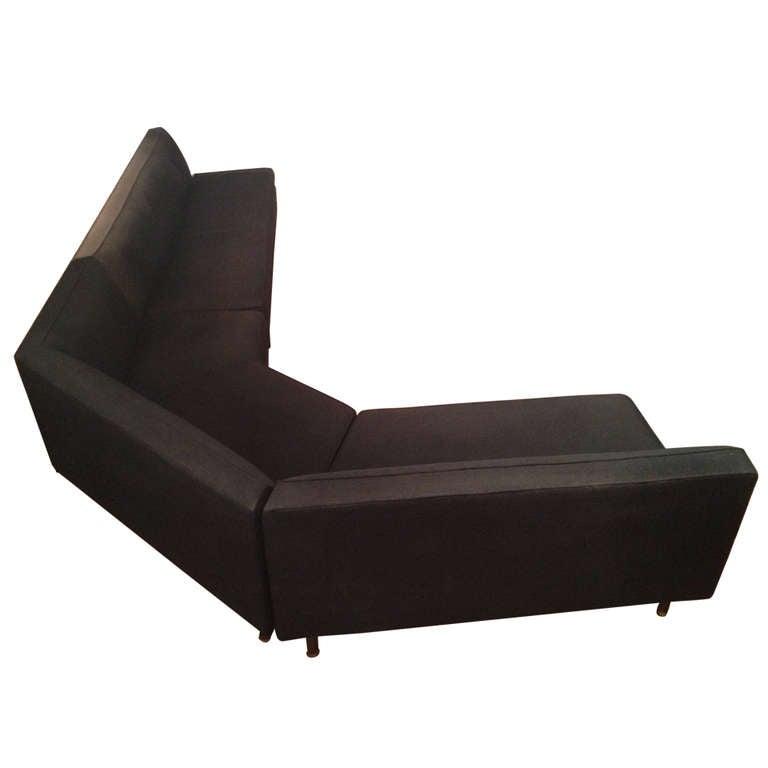 Harvey Probber Angled Sectional Sofa at 1stdibs