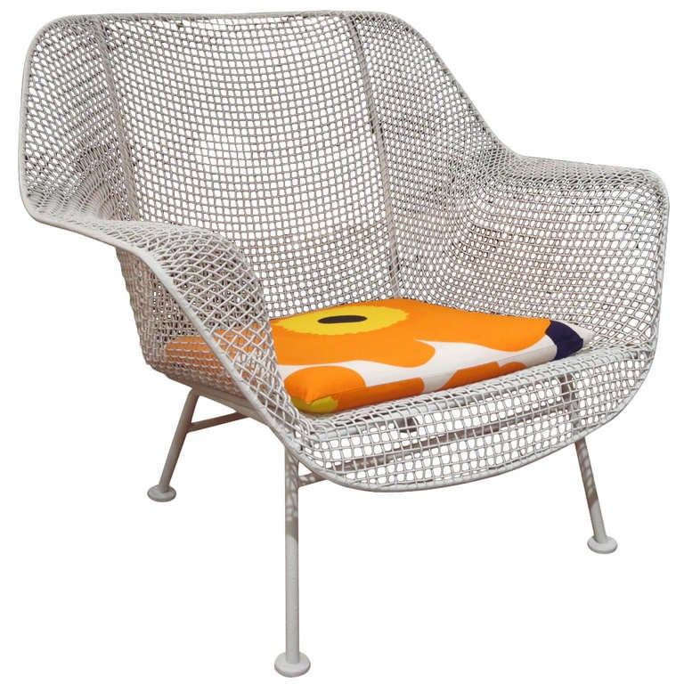 Russell Woodard Mesh Lounge Chair Three Available at 1stdibs