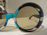 Pair of Vintage Oversized Sunglasses Designed by Emilio Pucci thumbnail 5