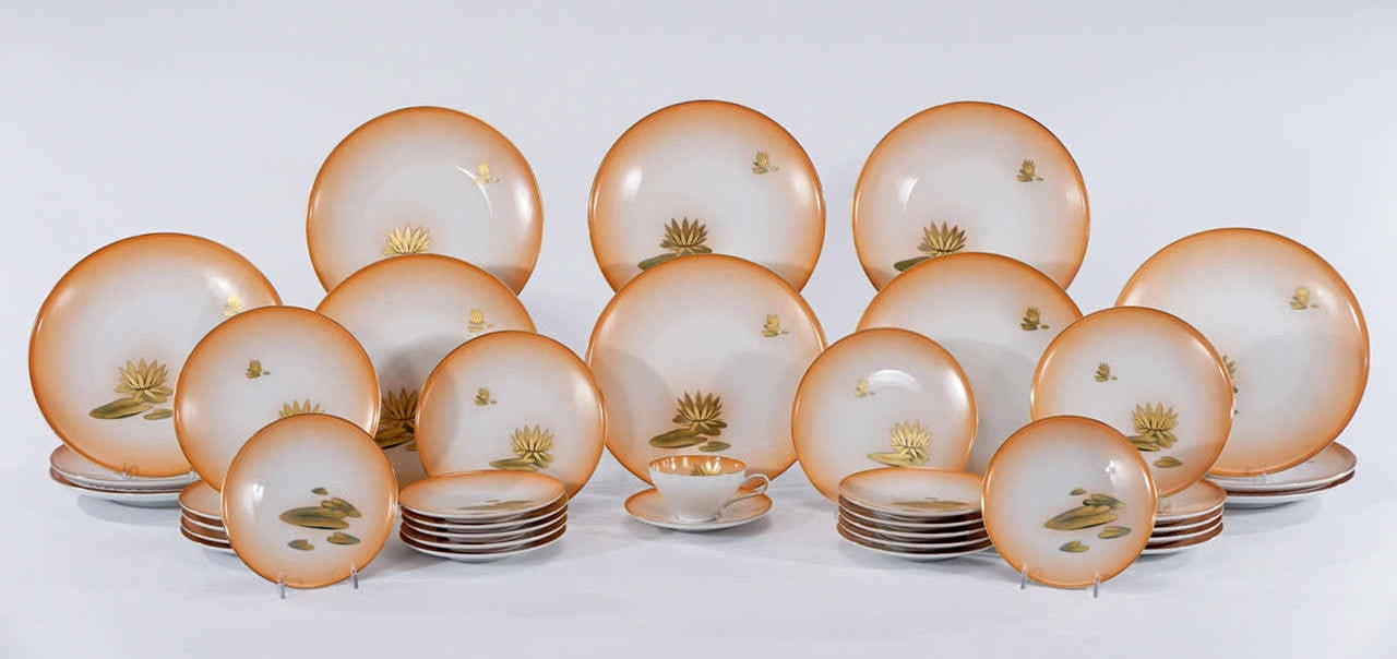 Hand Painted Dinner Set Lines