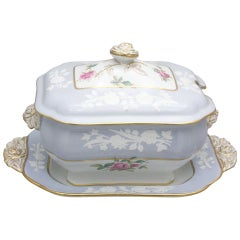 Copeland Spode 19th c. Sauce Tureen With Under Plate