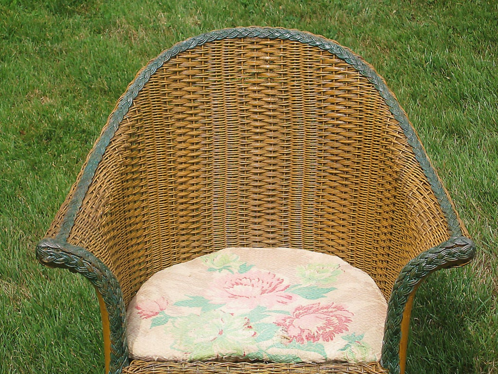 Three-Piece Child's Wicker Set image 4