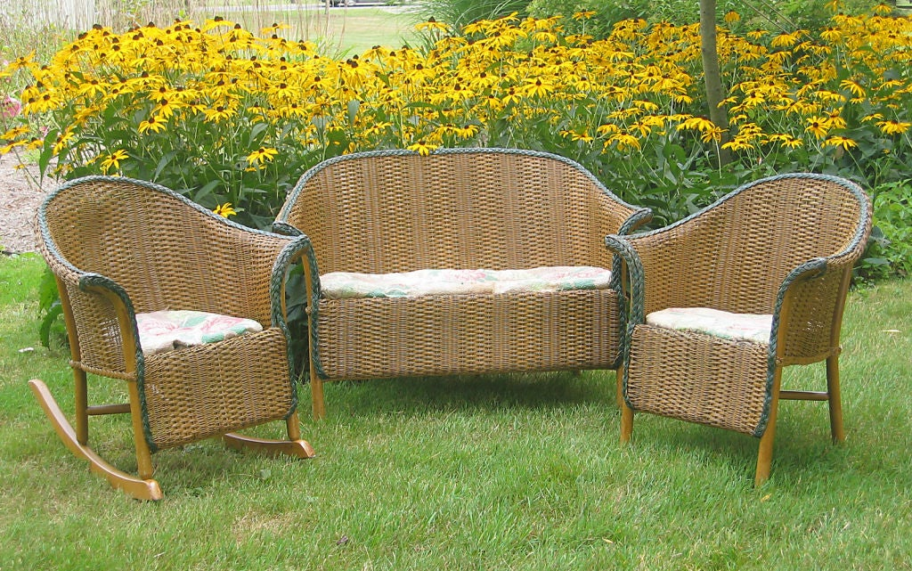 Three-Piece Child's Wicker Set image 8