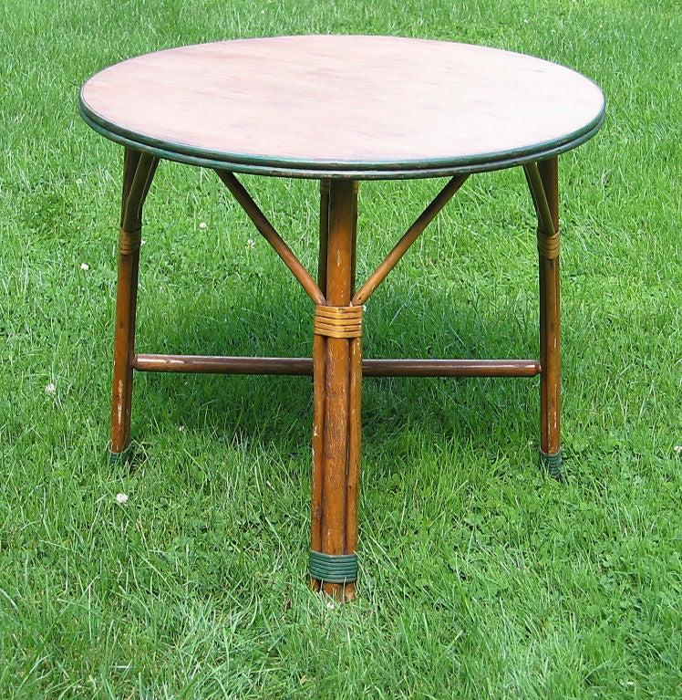 rattan coffee table at 1stdibs