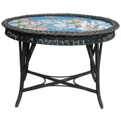 Bar Harbor Wicker Table