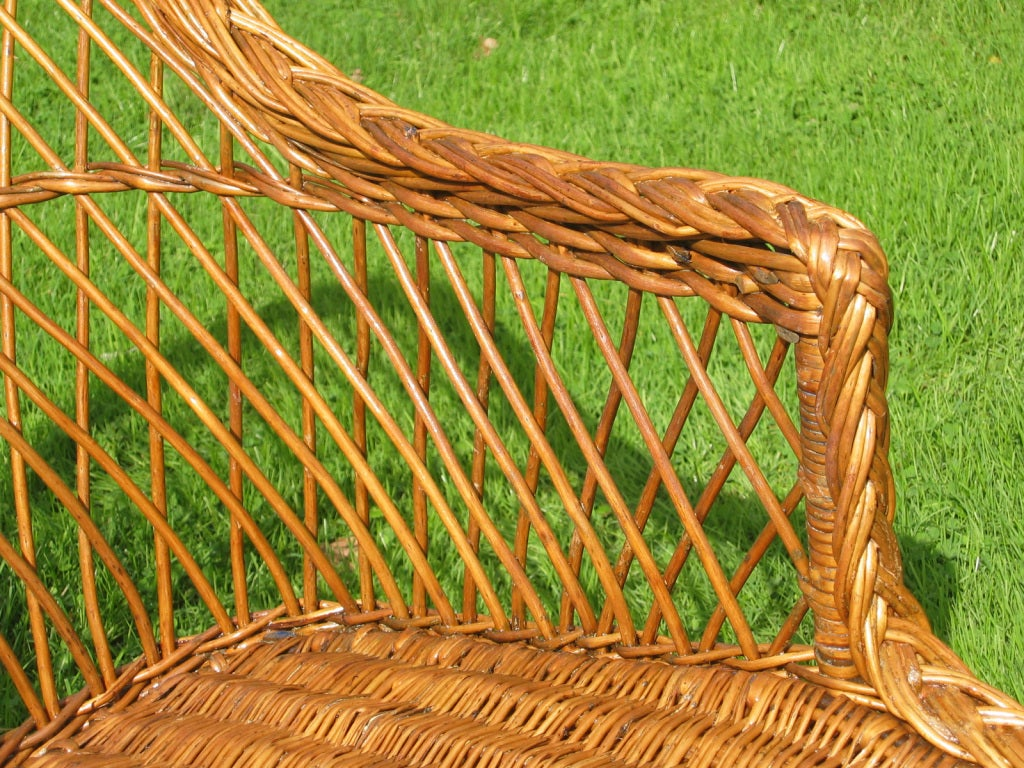 Bar harbor wicker chaise longue image 8 for Cane chaise longue