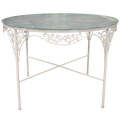 Salterini Style Round Patio Table