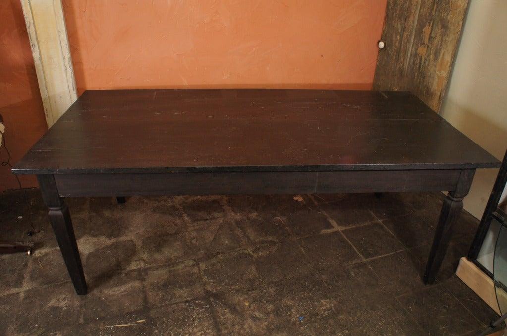 Antique Teak Wood Dining Table At 1stdibs