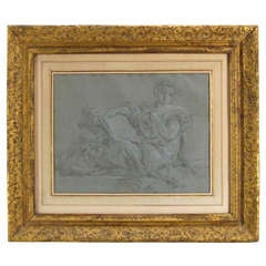 Late 18th/Early 19th C. Italian or French School Classical Drawing