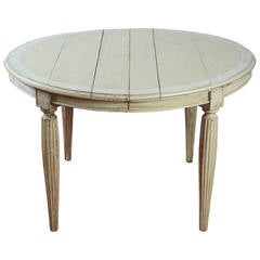 Antique Swedish Oval Dining Table