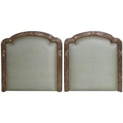 Neoclassical Gilded Headboards