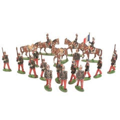 Group of Miniature French Soldiers