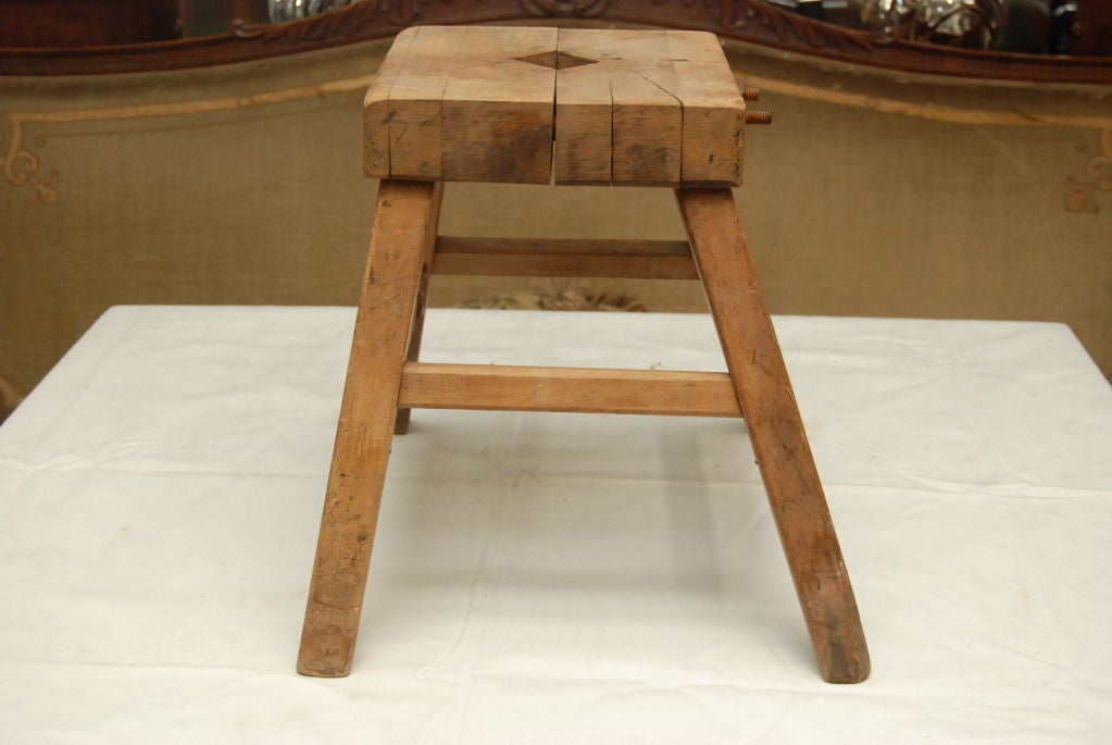 Primitive Stool At 1stdibs