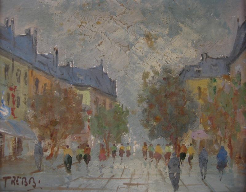 'Paris:  Scene de la Rue' image 3