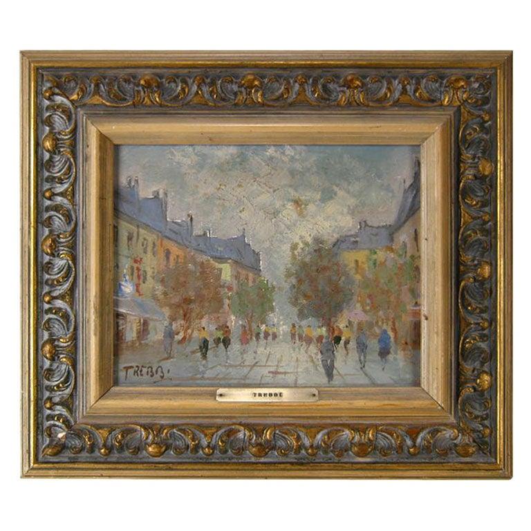 'Paris:  Scene de la Rue'