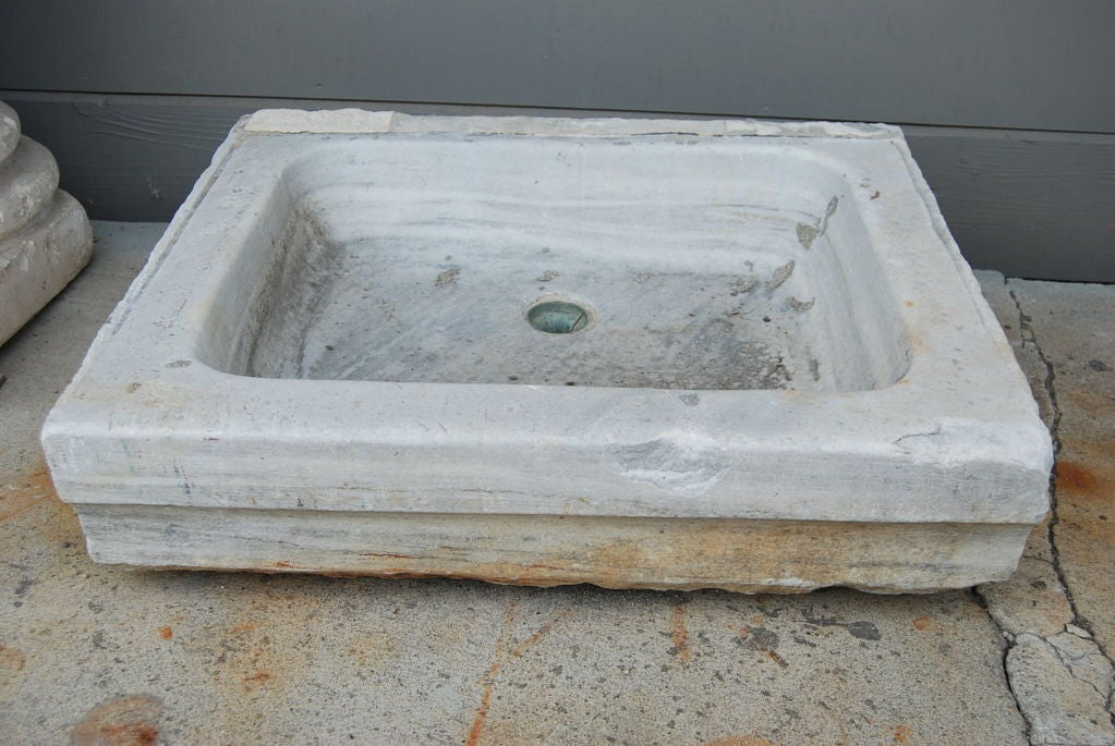 Perfect Antique Marble Sink 2