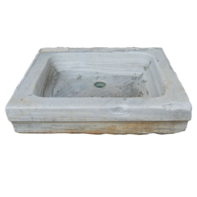 Antique Marble Sink at 1stdibs