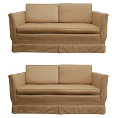 Pair of Loveseats