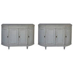 Rare Pair of Period Gustavian Sideboards