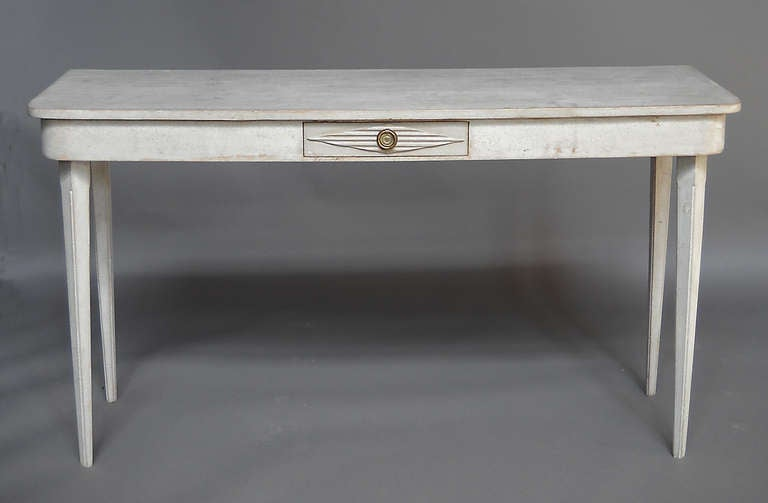 pair of long side tables at 1stdibs