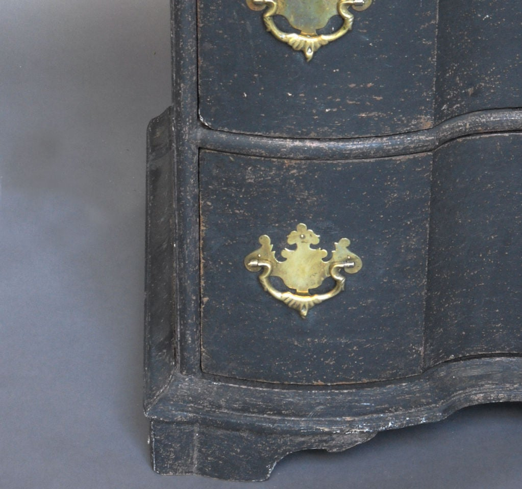Period Danish Rococo Chest of Drawers 1