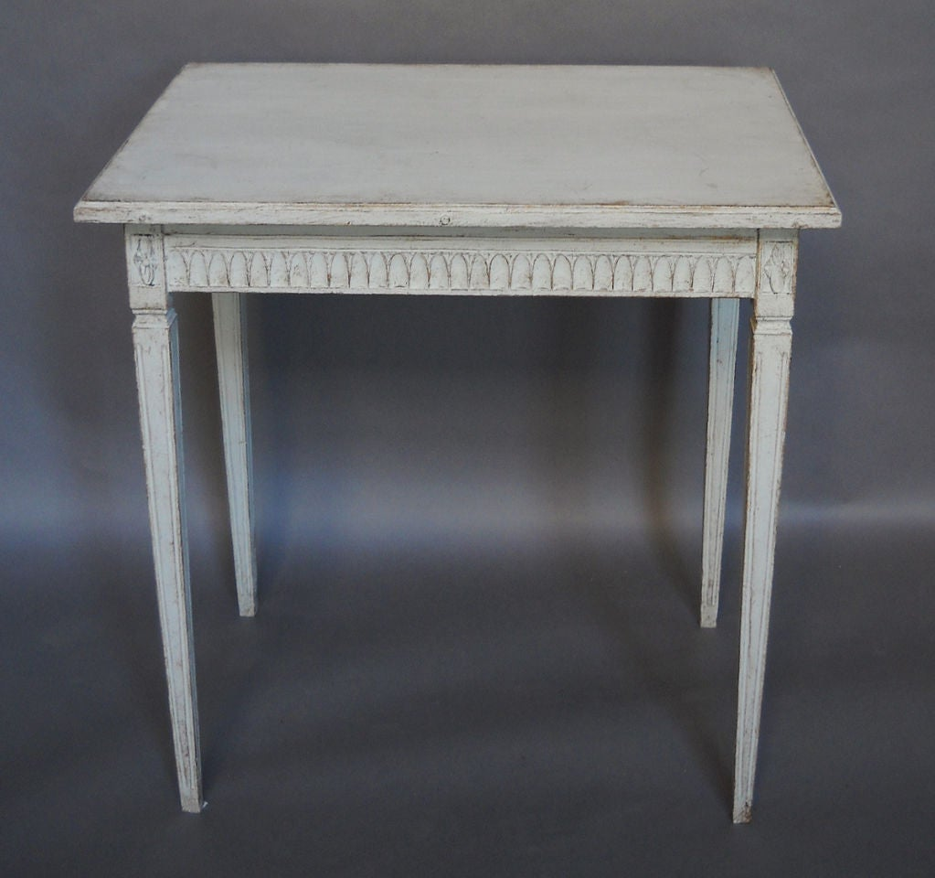 Pair of Period Gustavian Side Tables image 3