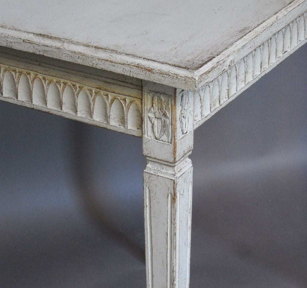 Pair of Period Gustavian Side Tables image 4