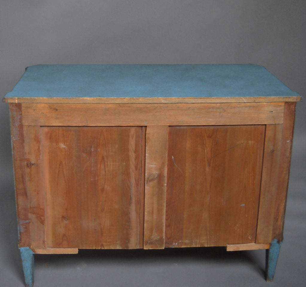 Swedish Commode in Blue Paint 2