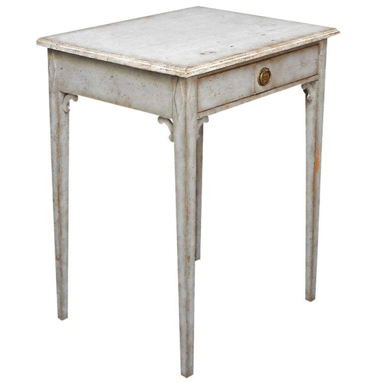 2240 side table with white top 2 for White side table