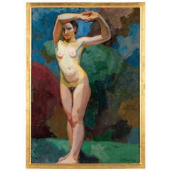 A Female Nude by George-Henri Tribout circa 1910