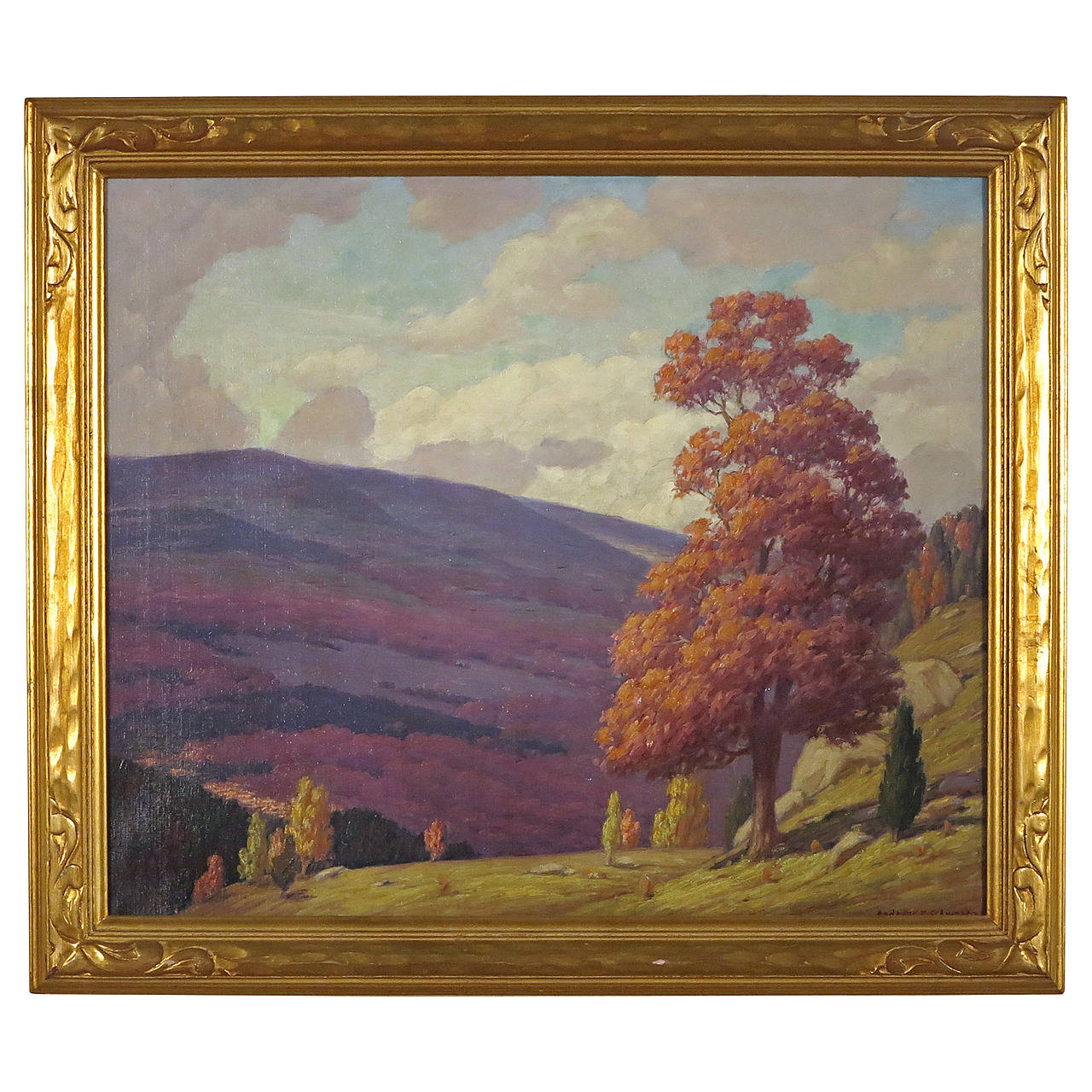 Blue Ridge Mountains, Virginia Painting by Andrew Thomas Schwartz