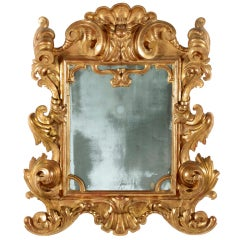 An Important Giltwood Mirror,Parma,Italy