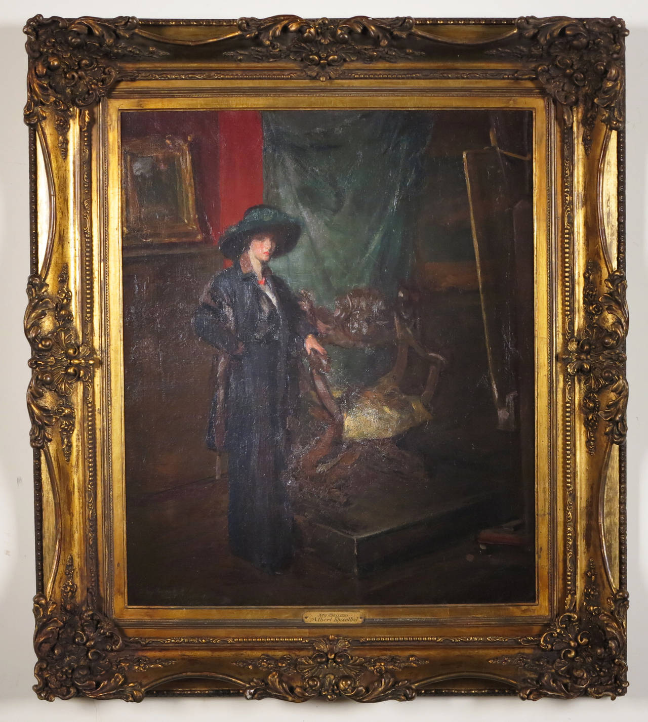 Artist Studio Painting By Albert Rosenthal For Sale At 1stdibs