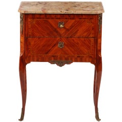 A French Ormulo-Mounted Petite Commode  By PAUL SORMANI