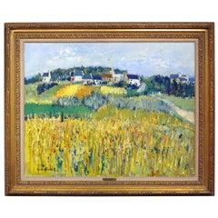 """Bles a Saint Philibert Painting"" by Yolande Ardissone"