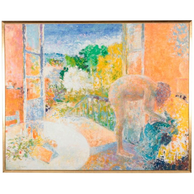 After the Bath by Bernard Taurelle