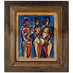 Three Figures by Ben Benn