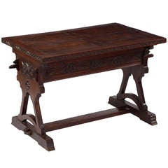 A Rare 18th Century Walnut Center Table Possibly Iberian