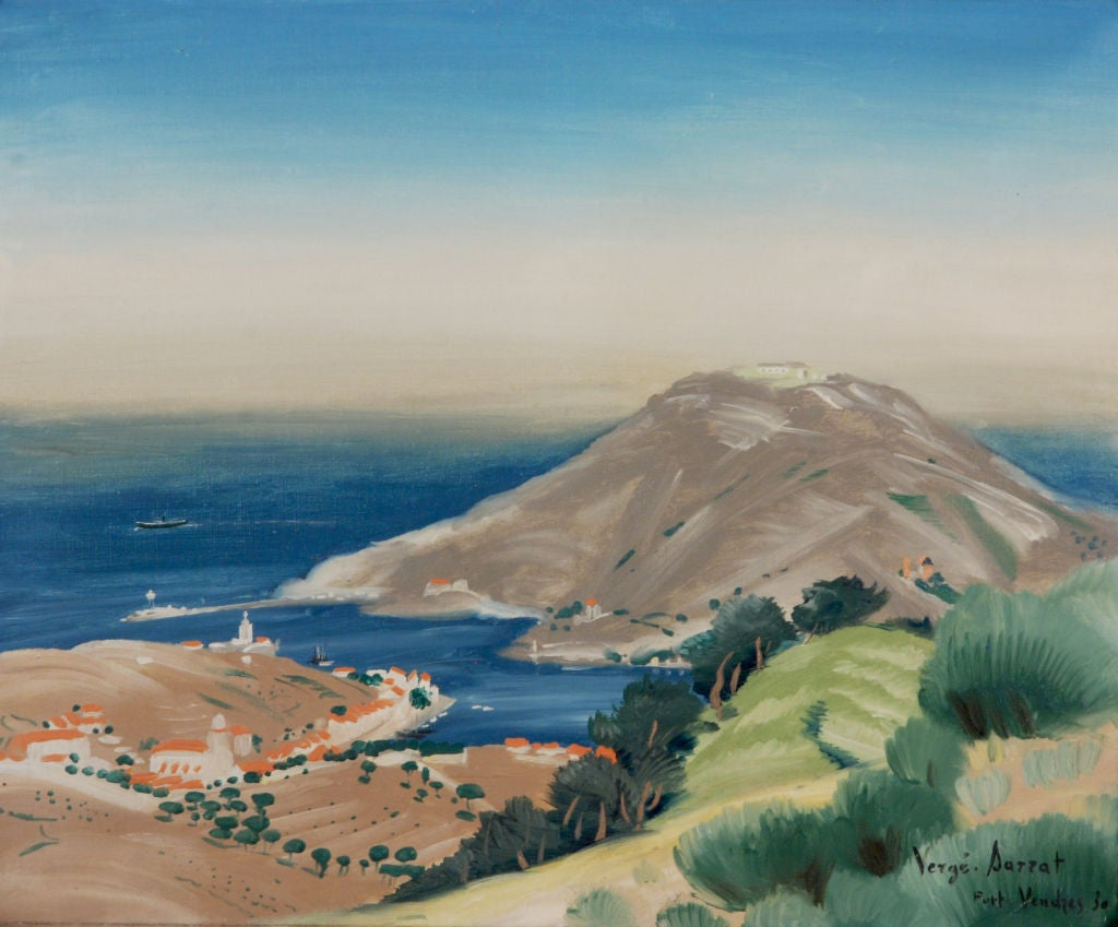 """Port Vendres"" by ...H Cassiers Artist"