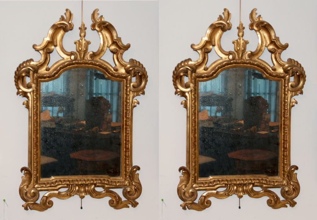 Height 36 in.  Width 24 in.  Provenance: Private Estate Lake Como, Italy