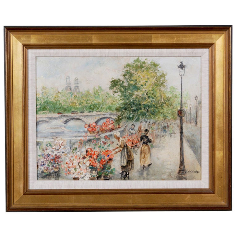 """""""Flower Seller""""  by Cesar Villacres"""