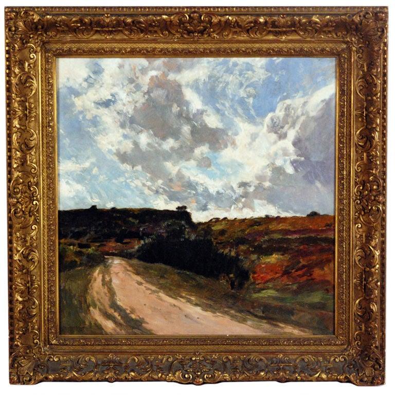 """""""An Impressionist Landscape"""" by Gaston de Latouche"""