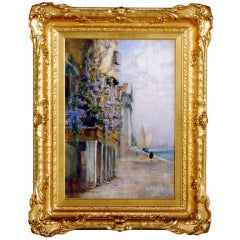 """""""A Venice Scene"""" by Walter Francis Brown"""