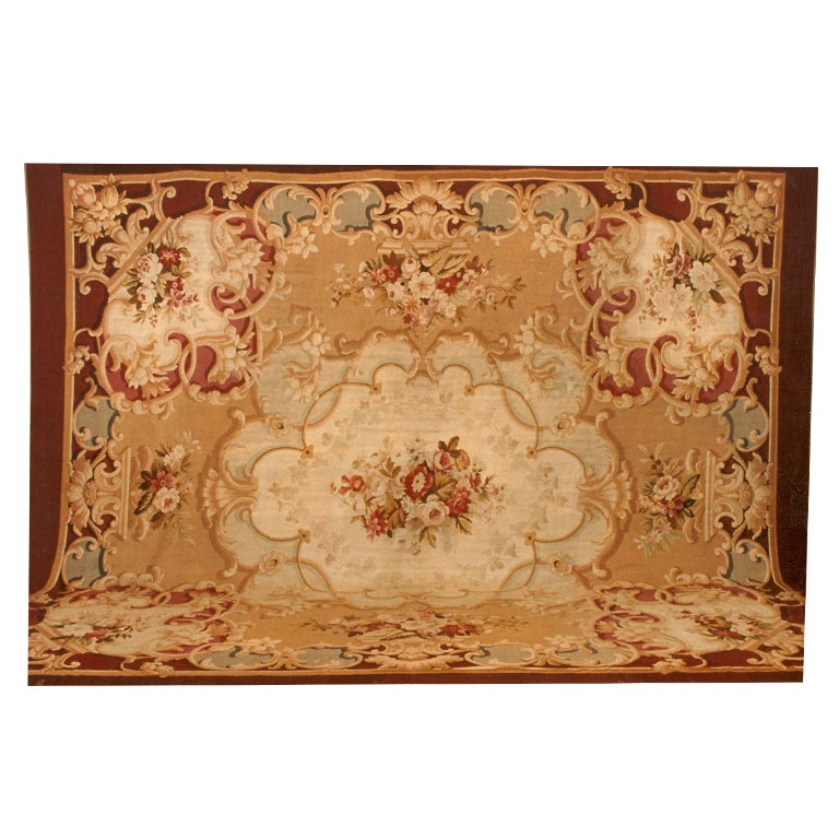 A Fine French Aubusson Carpet
