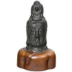 Southeast Asian Bust of Bodhisattva