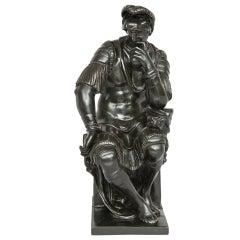Italian Bronze Figure of Lorenzo de' Medici