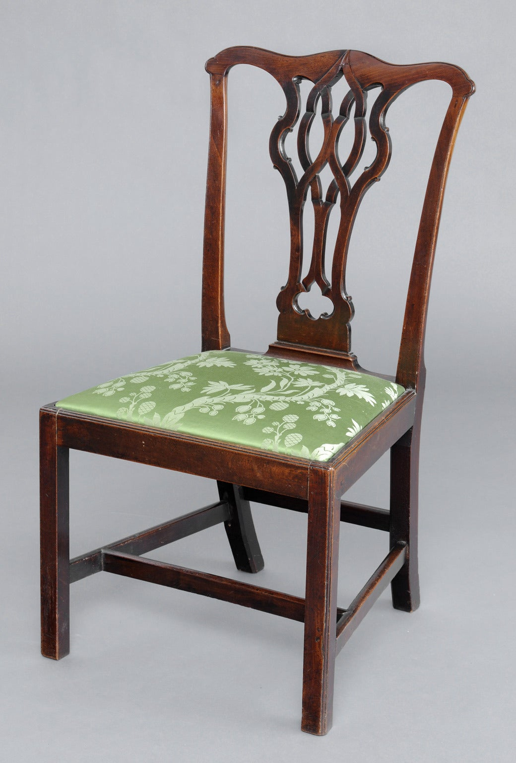 English antique chippendale side chair for sale at 1stdibs for Side chairs for sale