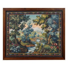 French Aubusson Tapestry Cartoon