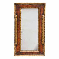 English George II Walnut Mirror
